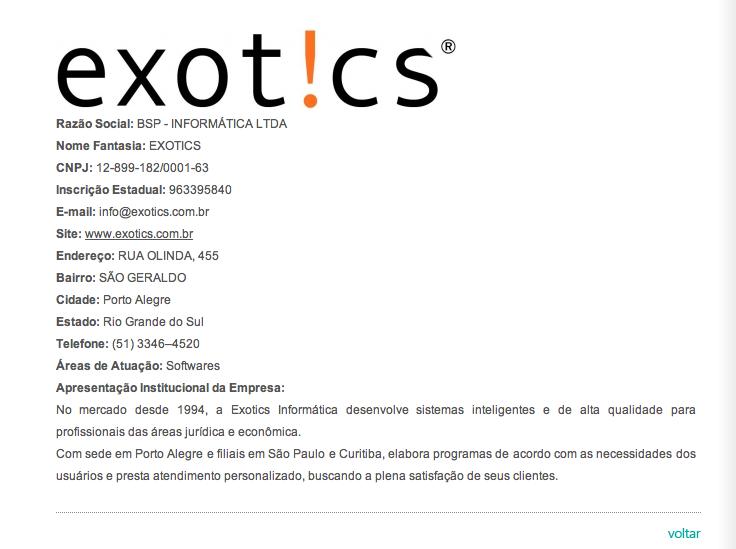 Exotics Seprorgs