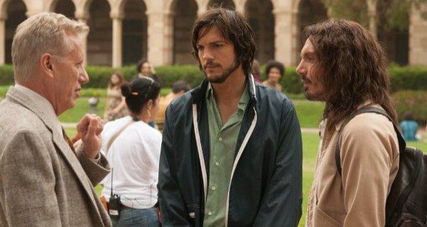 Cena do filme Jobs, com Ashton Kutcher. Crédito: Divulgação