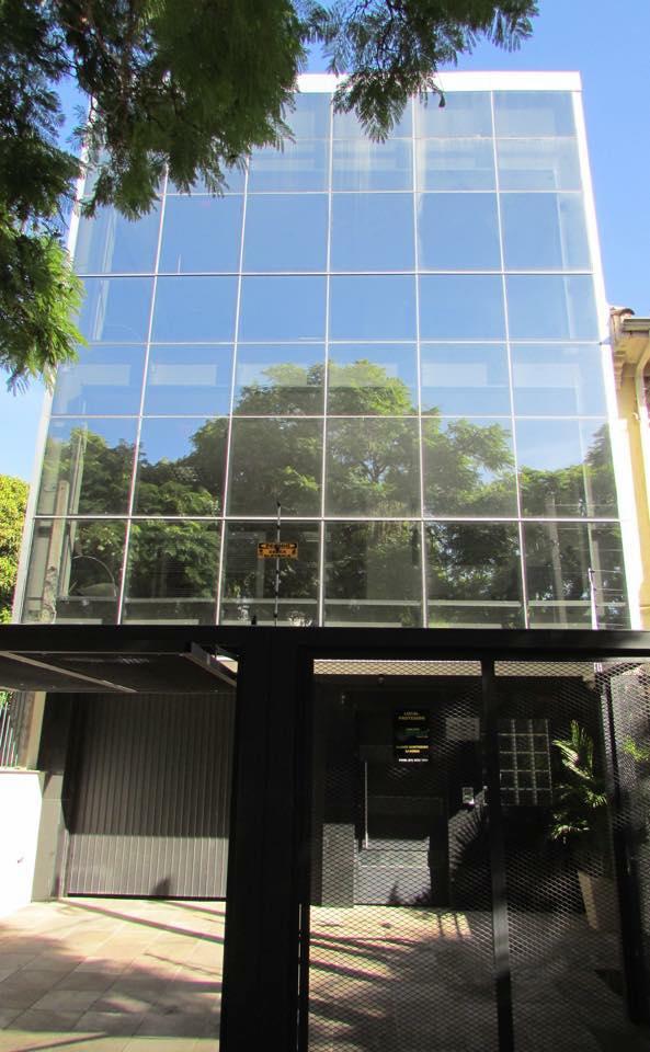 Nossa sede em Porto Alegre, na Rua Olinda, 455.
